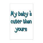 My Baby Mini Poster Print