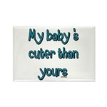 My Baby Rectangle Magnet (100 pack)