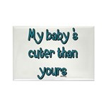 My Baby Rectangle Magnet (10 pack)