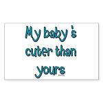 My Baby Sticker (Rectangle)