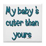 My Baby Tile Coaster