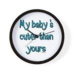 My Baby Wall Clock