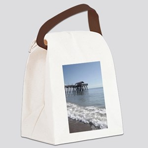 gone fishing tybee Canvas Lunch Bag