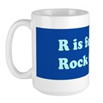 R is for Rock Creek Large Mug