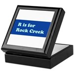 R is for Rock Creek Keepsake Box