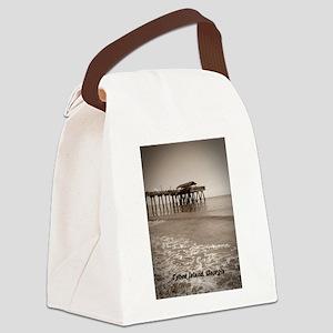 tybee island Ga Canvas Lunch Bag