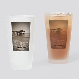 tybee island Ga Drinking Glass