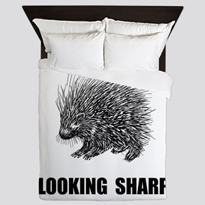 Sharp Porcupine Queen Duvet