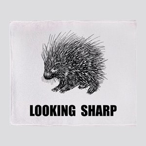 Sharp Porcupine Throw Blanket