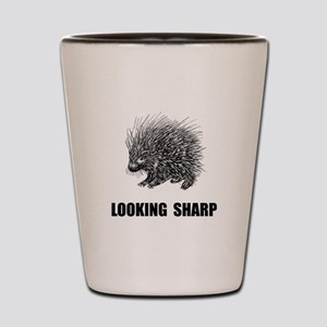 Sharp Porcupine Shot Glass