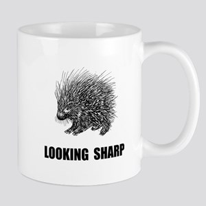 Sharp Porcupine Mugs