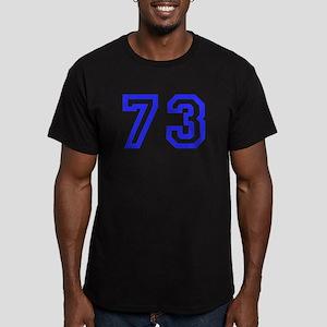 #73 Men's Fitted T-Shirt (dark)