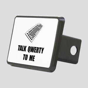 Talk QWERTY Hitch Cover