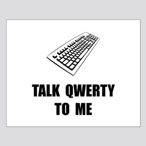Talk QWERTY Posters