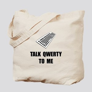 Talk QWERTY Tote Bag