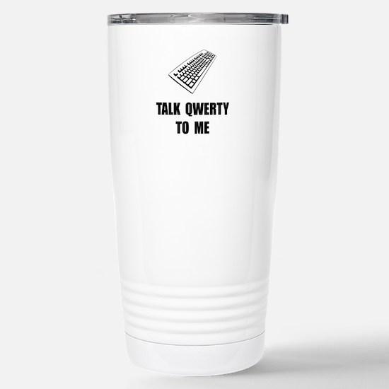 Talk QWERTY Travel Mug