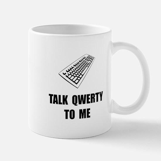 Talk QWERTY Mugs