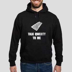 Talk QWERTY Hoodie