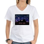 Defeat Iran Women's V-Neck T-Shirt