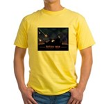 Defeat Iran Yellow T-Shirt