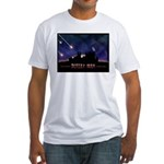 Defeat Iran Fitted T-Shirt