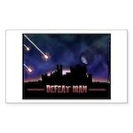 Defeat Iran Sticker (Rectangle 50 pk)