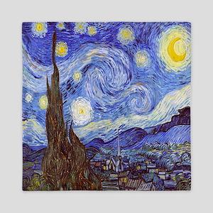 Starry Night Vincent Van Gogh Queen Duvet