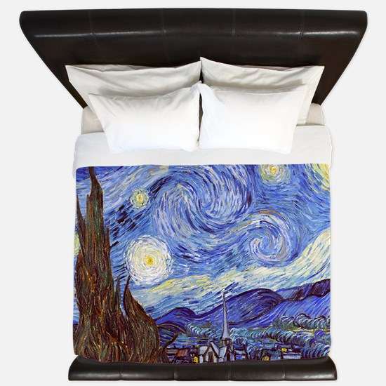 Starry Night Vincent Van Gogh King Duvet
