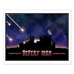 Defeat Iran Small Poster