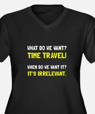 Time Travel Plus Size T-Shirt