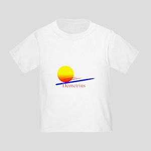Demetrius Toddler T-Shirt