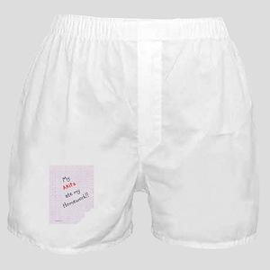 Akita Homework Boxer Shorts