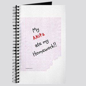 Akita Homework Journal