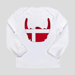Danish Viking Helmet Long Sleeve Infant T-Shirt