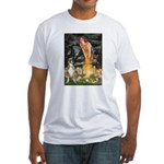 Fairies & Boxer Fitted T-Shirt