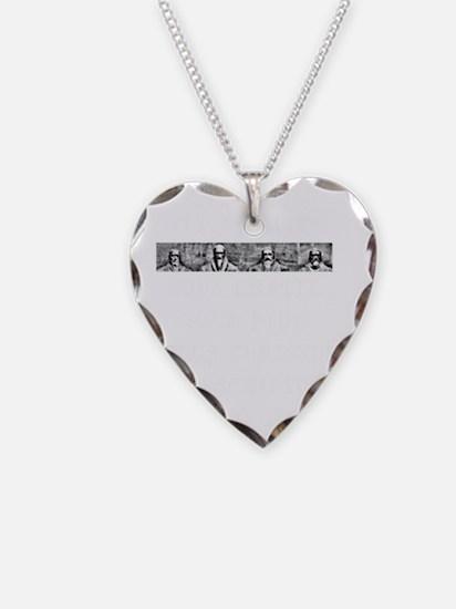 5 Point Narrow Necklace Heart Charm