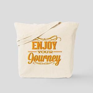 Enjoy Your Journey Tote Bag