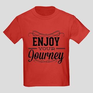 Enjoy Your Journey Kids Dark T-Shirt