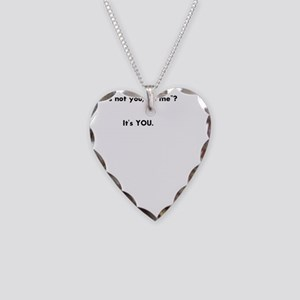 Don Necklace Heart Charm