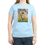 Spring with a Boxer Women's Light T-Shirt