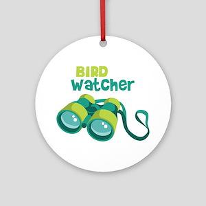 Bird Watcher Ornament (Round)