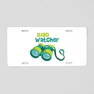 Bird Watcher Aluminum License Plate