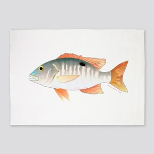 Mutton Snapper 5'x7'Area Rug