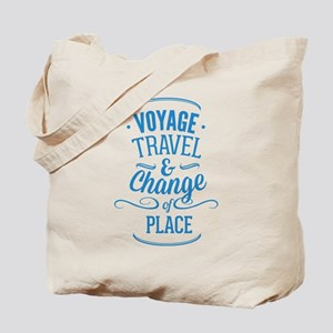 Voyage Travel & Change Of Place Tote Bag