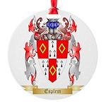 Esplem Round Ornament