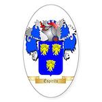 Espiritu Sticker (Oval 10 pk)