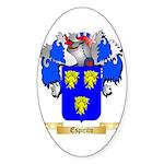 Espiritu Sticker (Oval 50 pk)