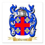 Espinos Square Car Magnet 3