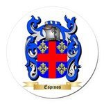 Espinos Round Car Magnet