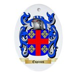 Espinos Ornament (Oval)